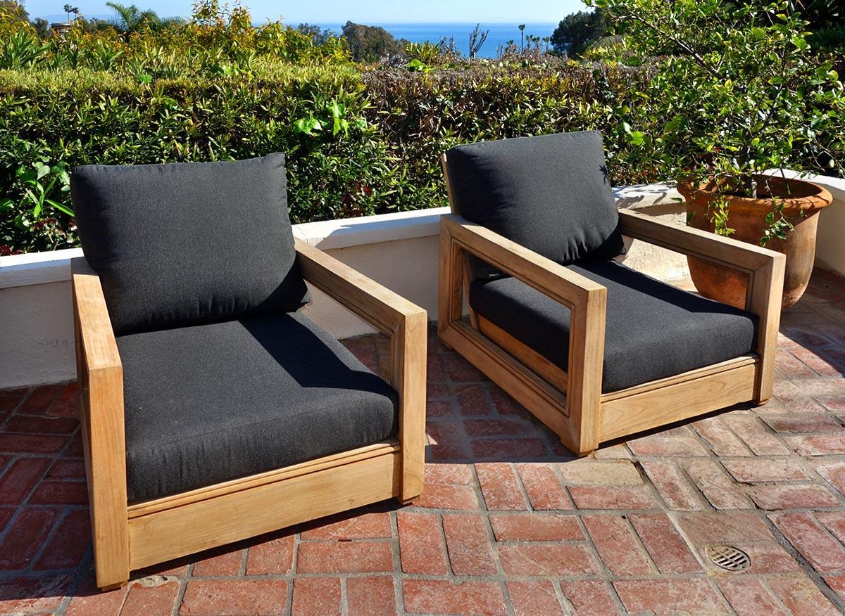 Ventura 3pc Chat Group With Sunbrella Cushions Iksun
