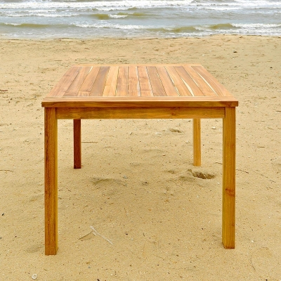 "36"" Square Teak Dinning Table Furniture"
