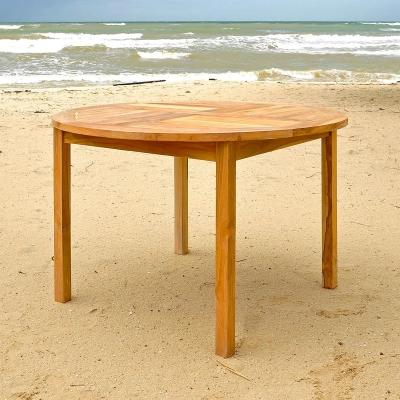 "48"" Round Teak Dinning Table"