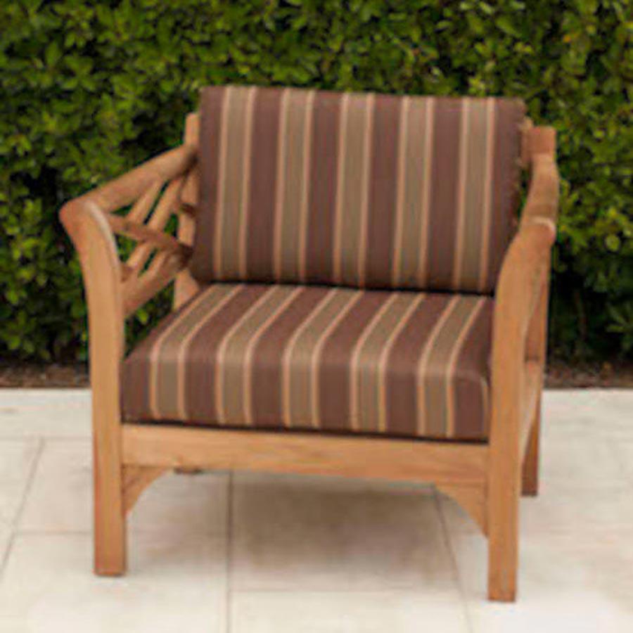 Malibu Outdoor Club Chair With Sunbrella Cushion Iksun
