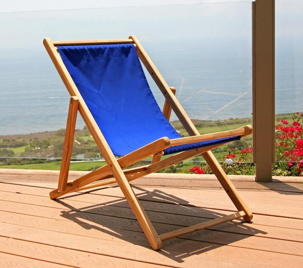 Teak Folding Beach Chair