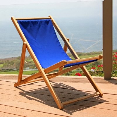 Teak Folding Beach Chair