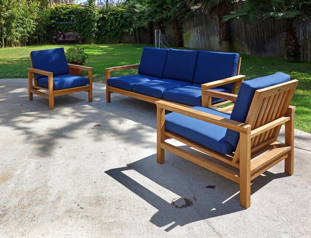 Inspirations Iksun Teak Patio Furniture Sale